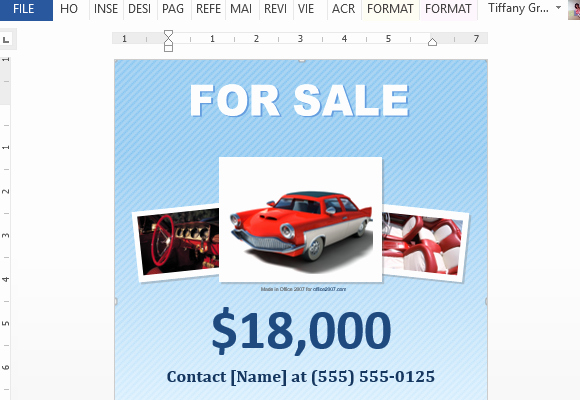 Sales Flyer Template Word Awesome How to Make A for Sale Flyer In Word