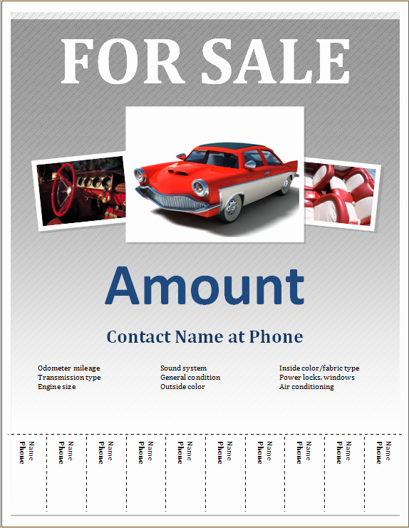 Sales Flyer Template Word Lovely 50 Ms Word Editable Flyers Templates