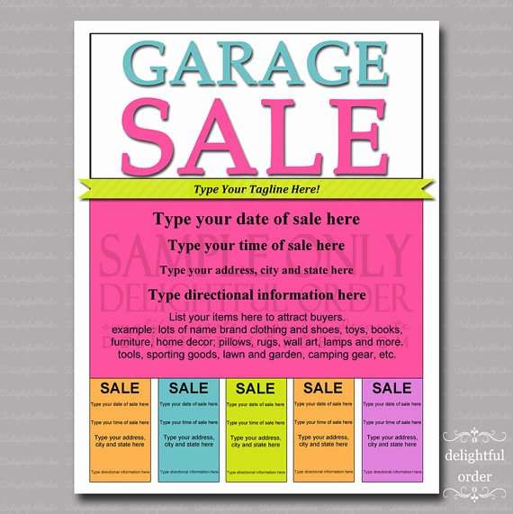 Sales Flyer Template Word Lovely 7 Sale Flyer Templates Excel Pdf formats