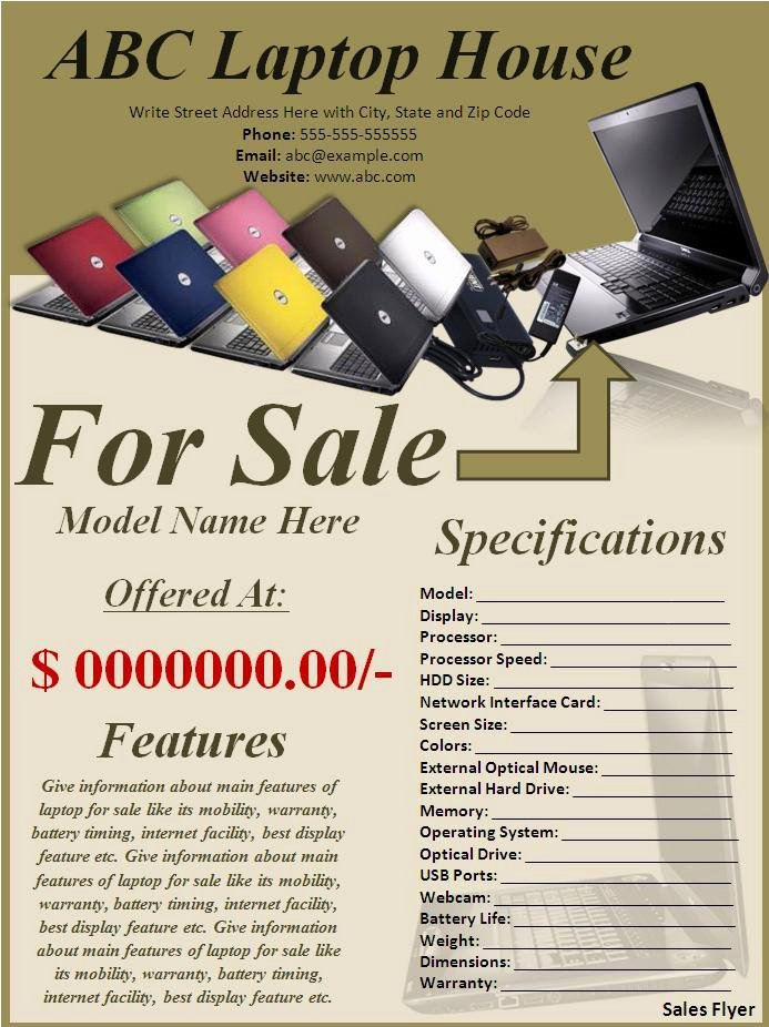 Sales Flyer Template Word Lovely Sales Flyer Best Word Templates