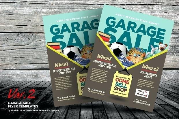 Sales Flyer Template Word Luxury Yard Sale Flyer Retro Garage Sale Flyer Garage Sale Flyers