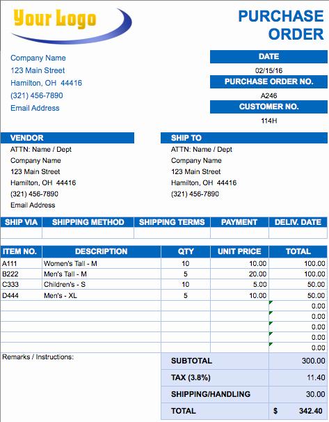Sales order Template Excel Elegant Free Excel Invoice Templates Smartsheet
