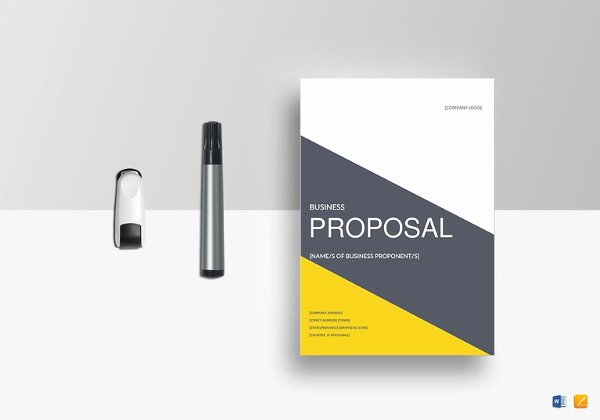 Sales Proposal Template Word Awesome 28 Free Proposal Templates Microsoft Word format Download