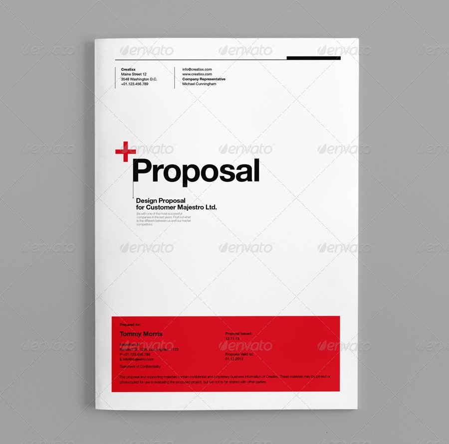 Sales Proposal Template Word Lovely Proposal by Egotype