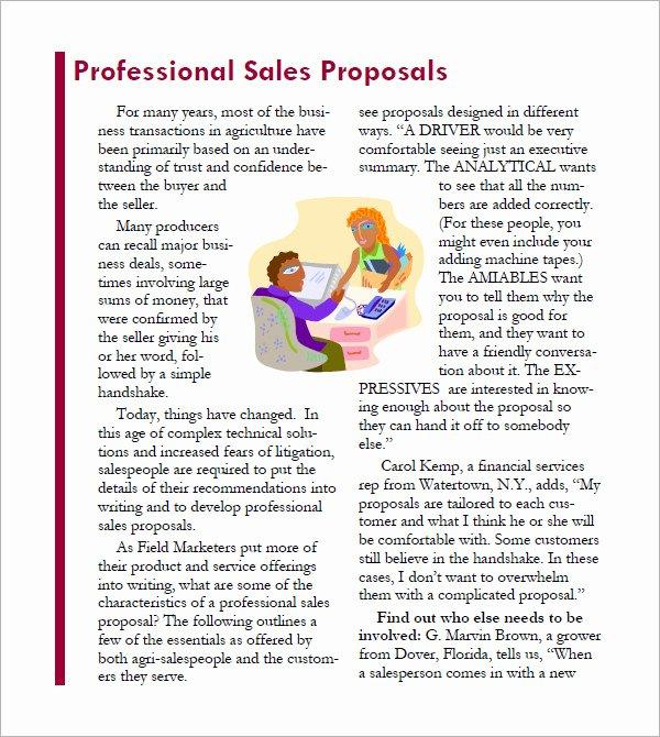 Sales Proposal Template Word Luxury 20 Sample Sales Proposal Templates – Pdf Word Psd
