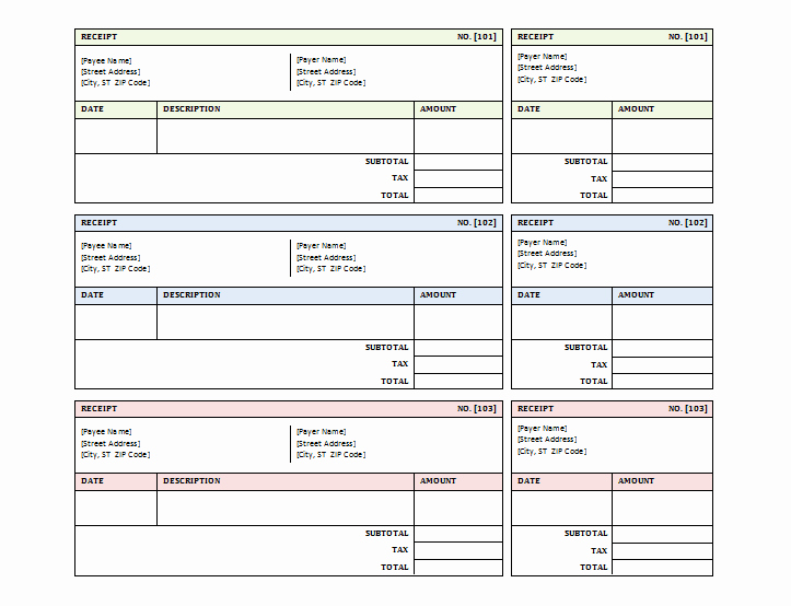 Sales Receipt Template Excel Awesome Document Templates Sales Receipt Template for Word and Excel