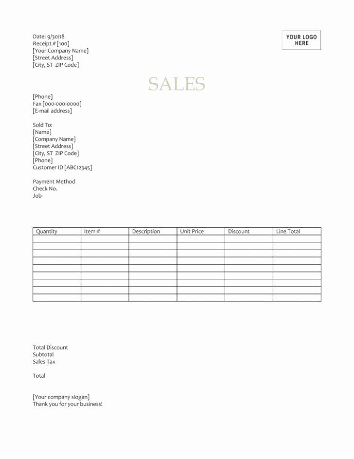 Sales Receipt Template Excel Lovely E Receipts Template – Charitable Receipt Template