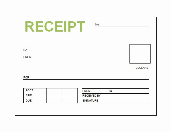 Sales Receipt Template Excel Luxury Official Receipts Samples