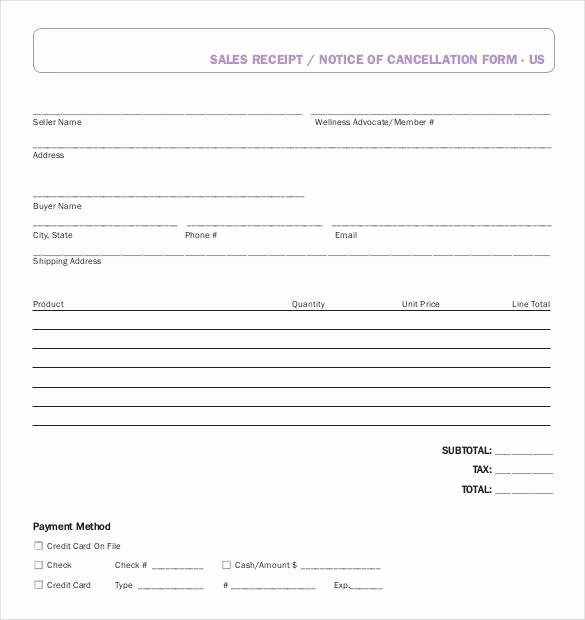Sales Receipt Template Free Awesome 29 Sales Receipt Templates Doc Excel Pdf