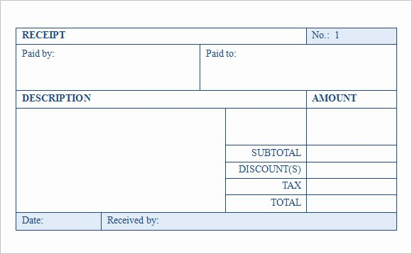 Sales Receipt Template Free Lovely 9 Sales Receipt Templates – Free Samples Examples