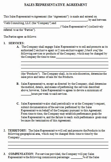 Sales Rep Agreement Template Best Of How to Create Your Own Sales Contract Template with