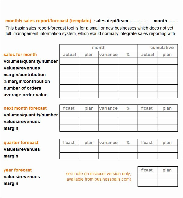 Sales Report Template Excel Unique Sales Report Template 9 Free Pdf Doc Download