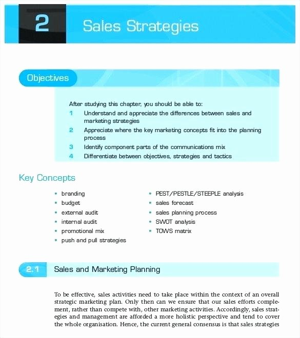 Sales Strategic Plan Template Fresh Sales Strategic Plan the 10 Reasons tourists Love Sales