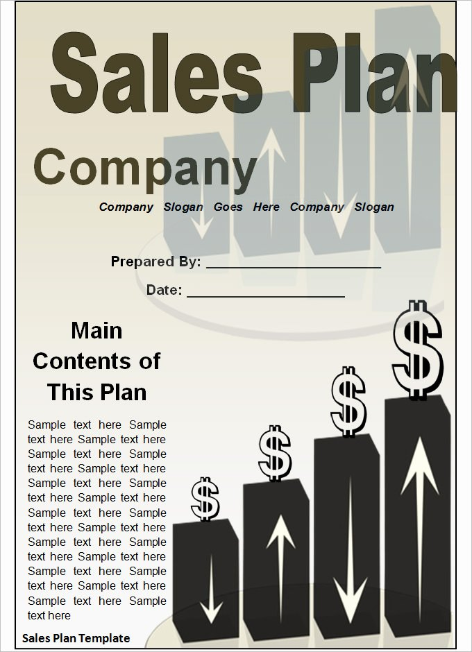 Sales Strategic Plan Template Unique Strategic Sales Plan Templates 8 Free Sample Example
