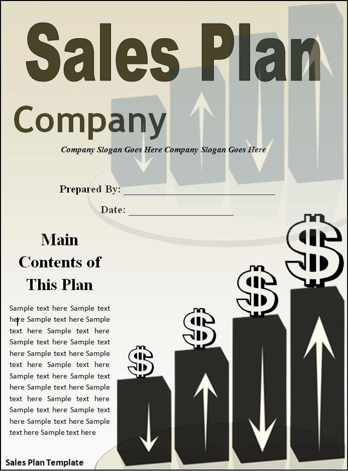 Sales Strategy Plan Template Fresh 10 Sales Plan Templates