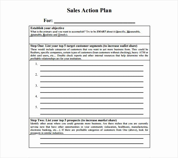 Sales Strategy Plan Template Luxury Free Sales Plan Templates Free Printables Word Excel