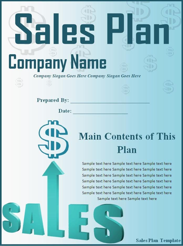 Sales Strategy Plan Template New Sales Plan Template Word Excel formats