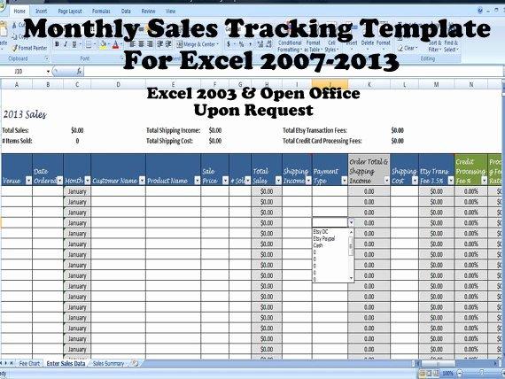 Sales Tracker Excel Template Elegant Simple Sales Summary Template Excel