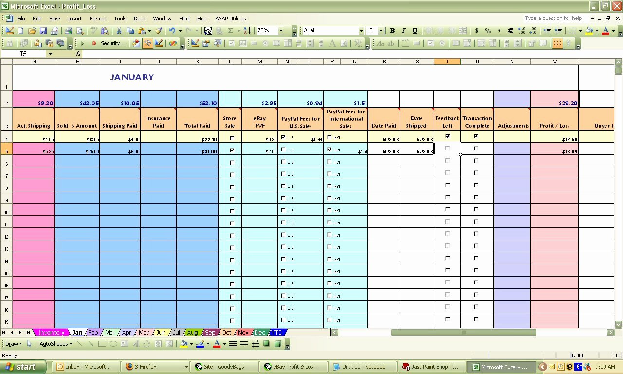 Sales Tracker Excel Template New Ebay Spreadsheet Template Spreadsheet Templates for