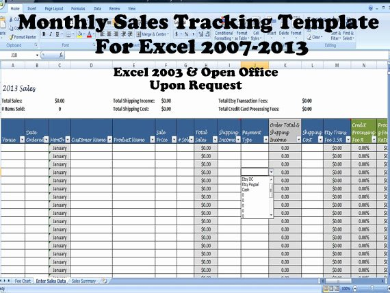 Sales Tracking Spreadsheet Template Fresh Simple Sales Summary Template Excel