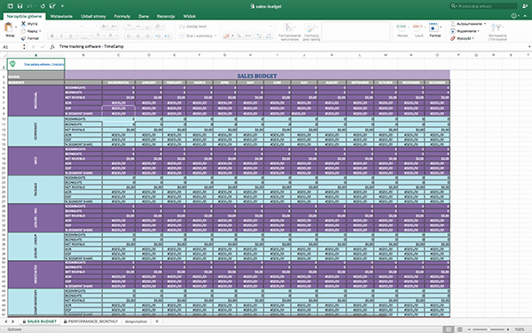 Sales Tracking Template Excel Free Awesome Free Timesheet Excel Templates for Business Timecamp