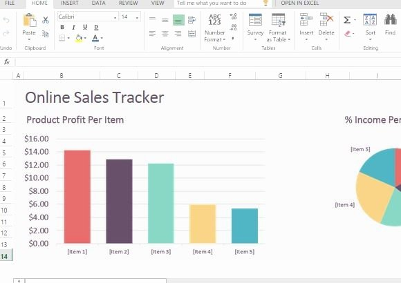 Sales Tracking Template Excel Free Best Of Line Sales Tracker Template for Excel Line