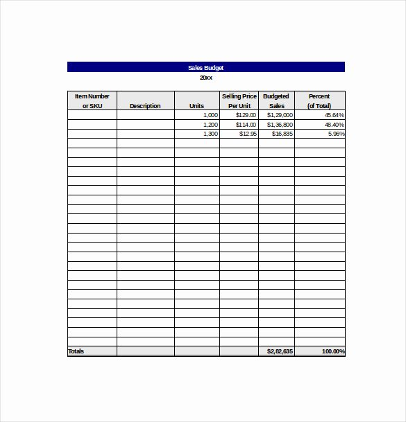Sales Tracking Template Excel Free Lovely 10 Sales Tracking Templates – Free Sample Example format
