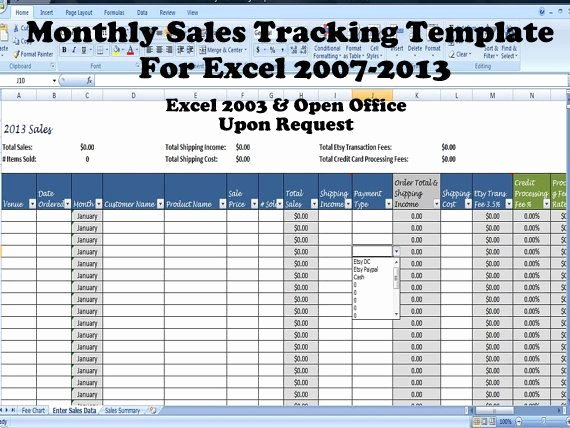 Sales Tracking Template Excel Free New Sales Template Monthly Sales Tracking Template Direct