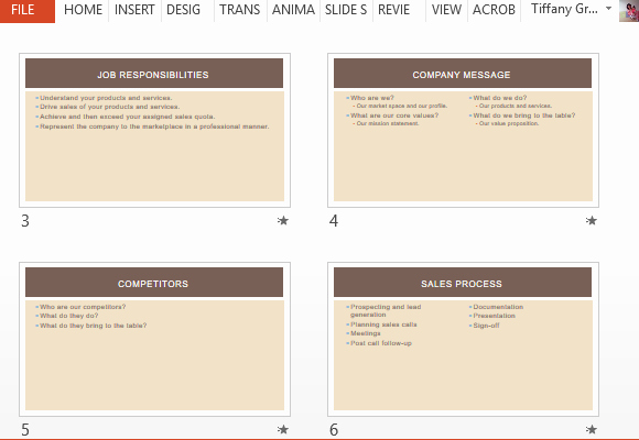 Sales Training Program Template Awesome Business Sales Training Template for Powerpoint