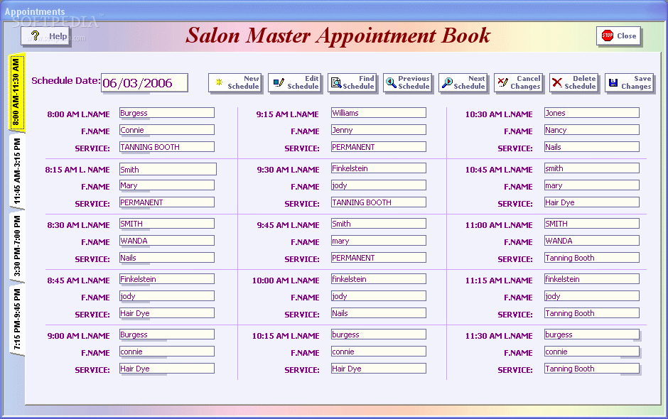 Salon Appointment Book Template Best Of Blog Archives softwarewatches