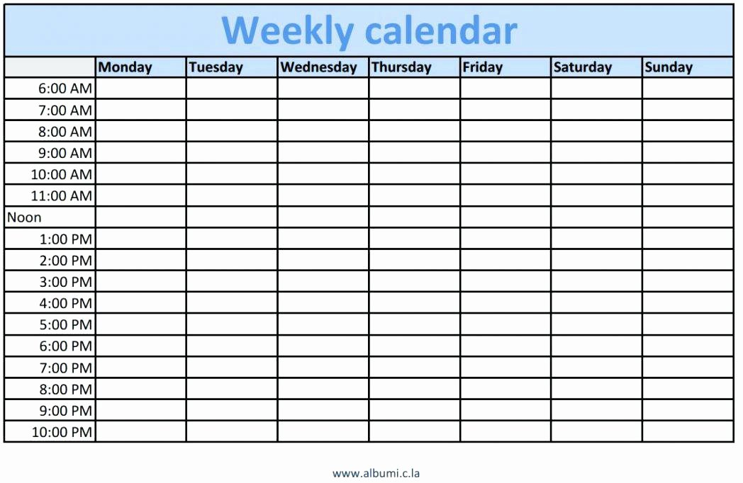 Salon Appointment Book Template Best Of Printable Weekly Appointment Schedule Scheduling Free