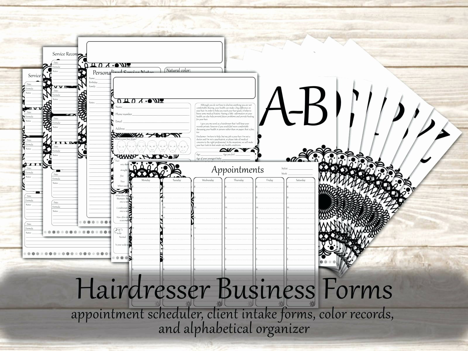 Salon Appointment Book Template Lovely Template Hair Salon Appointment Book Template Menu A