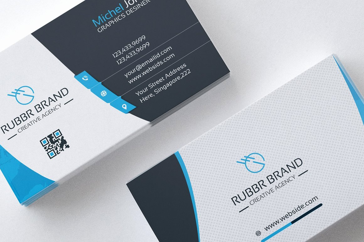 Sample Business Card Template Awesome Business Card Template