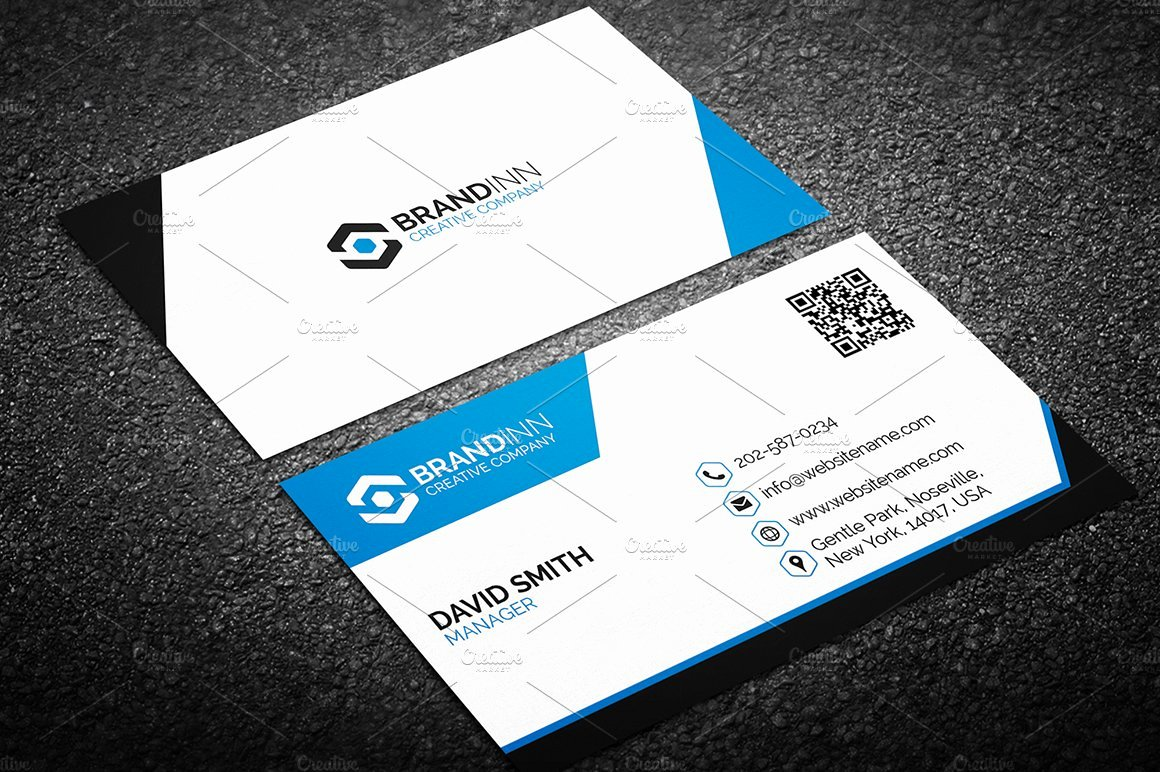 Sample Business Card Template Beautiful Modern Business Card Template Business Card Templates