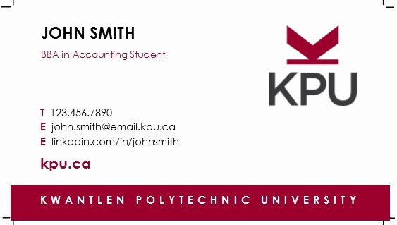 Sample Business Card Template Best Of How to order Student Business Cards