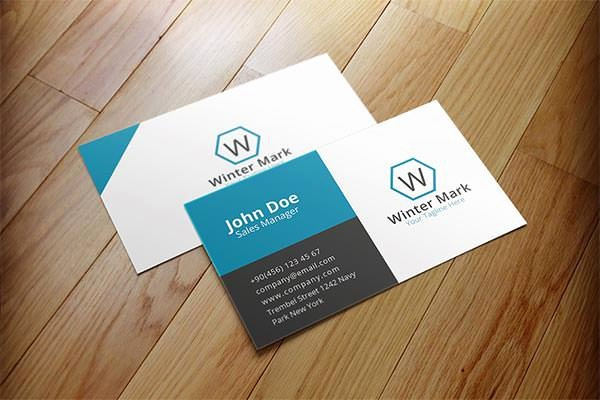 Sample Business Card Template Fresh 63 Corporate Business Card Templates Indesign Ai Word