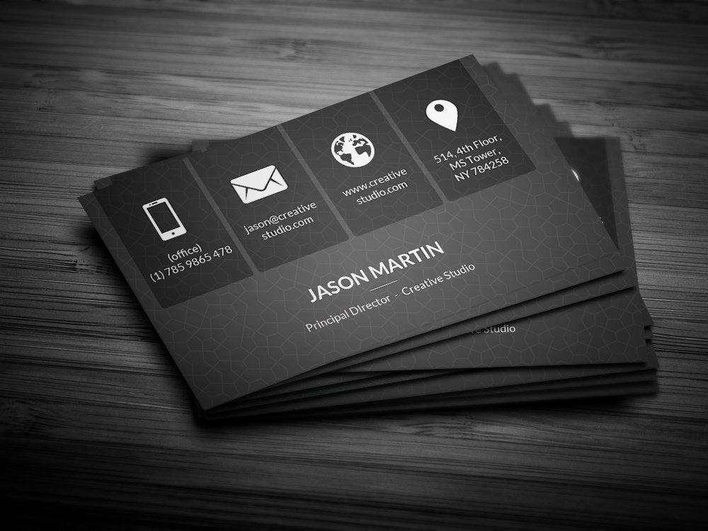 Sample Business Card Template Fresh Metro Dark Corporate Business Card Business Card