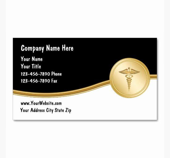 Sample Business Card Template Unique 17 Medical Business Card Templates