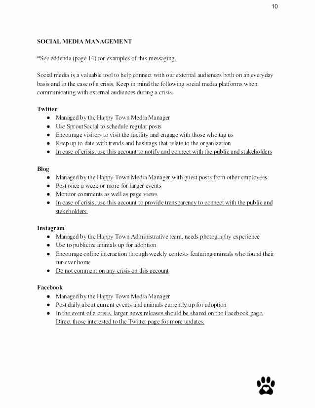 Sample Crisis Communication Plan Template Fresh Crisis Munication Plan Sample Account Template