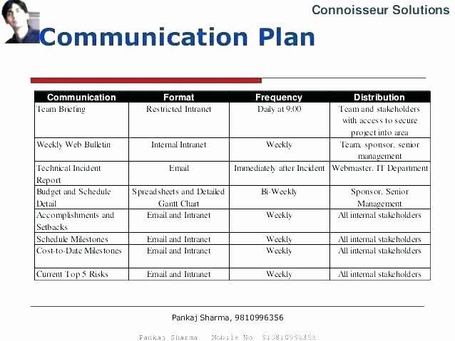 Sample Crisis Communication Plan Template Luxury Crisis Munication Plan Template Internal Munications