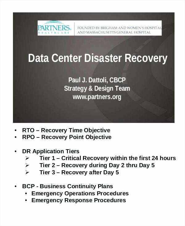 Sample Disaster Recovery Plan Template Luxury Data Center Disaster Recovery Plan Template – Shopsapphire