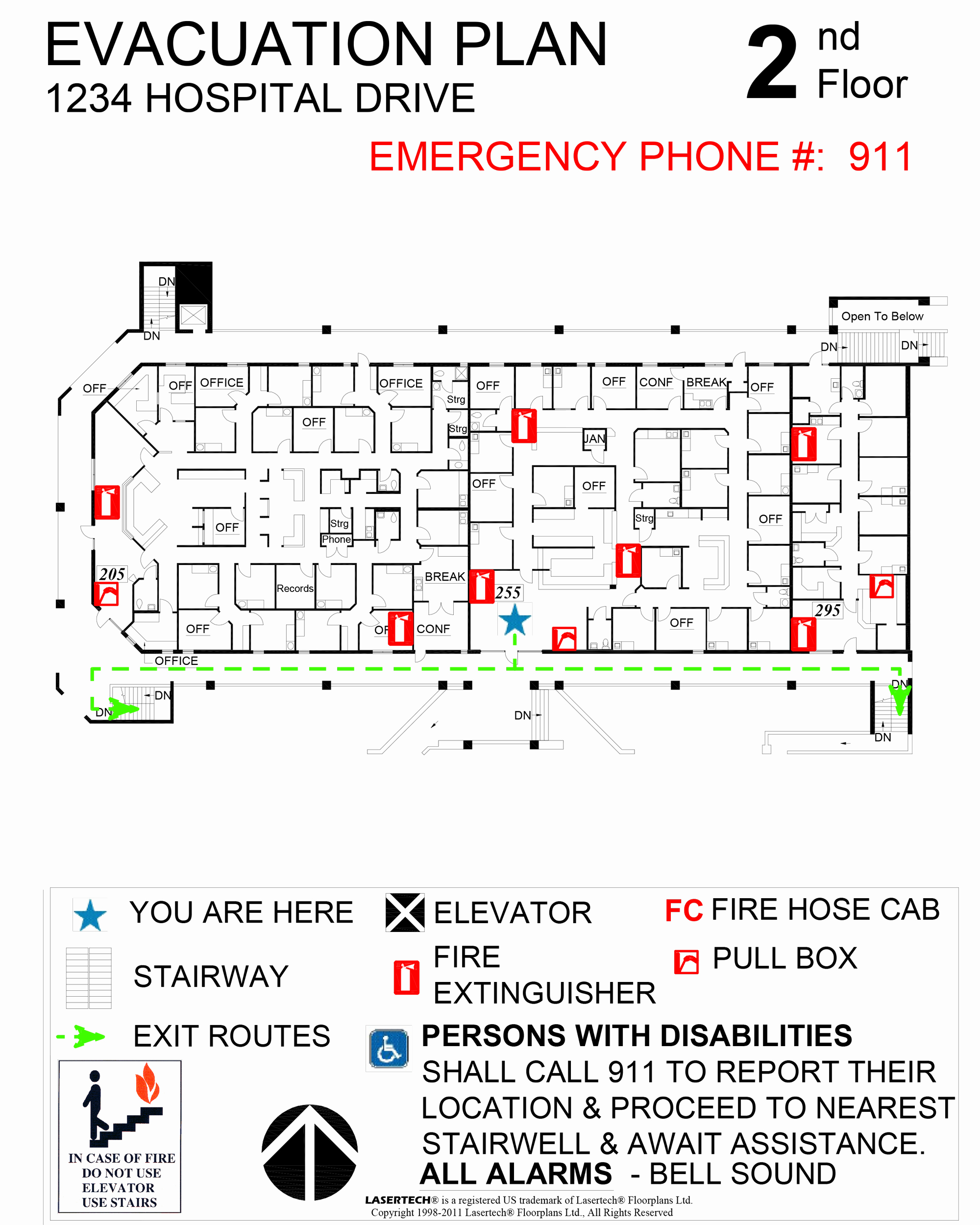 Sample Emergency Evacuation Plan Template Best Of Emergency Evacuation Plans Lasertech Floorplans