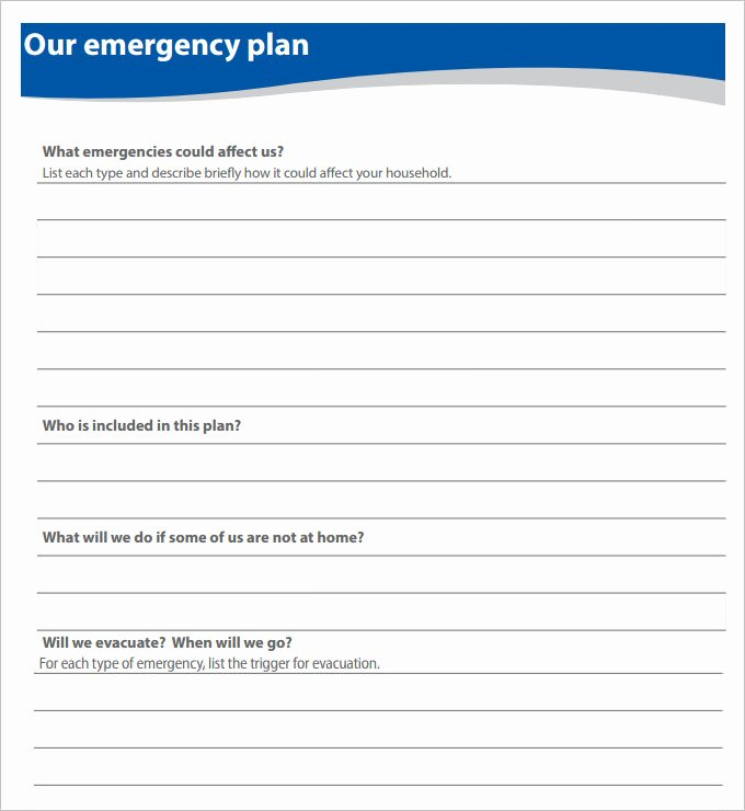 Sample Emergency Evacuation Plan Template Fresh 7 Home Evacuation Plan Templates Google Docs Ms Word