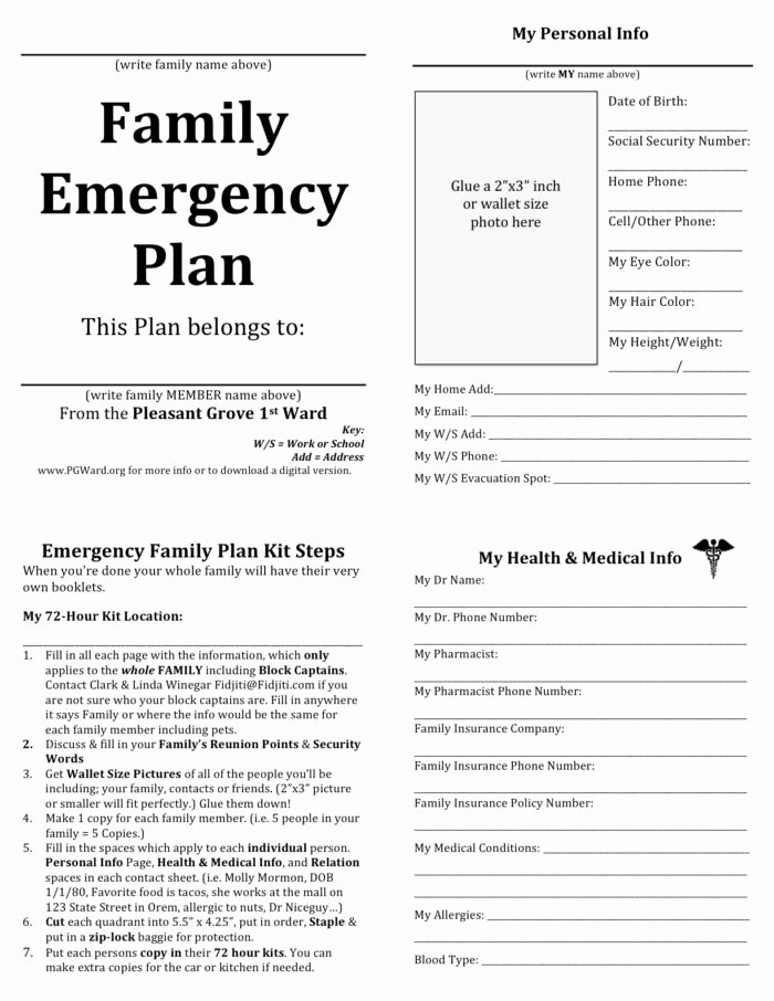 Sample Emergency Evacuation Plan Template Inspirational Cal Osha Emergency Action Plan Sample Templates Resume