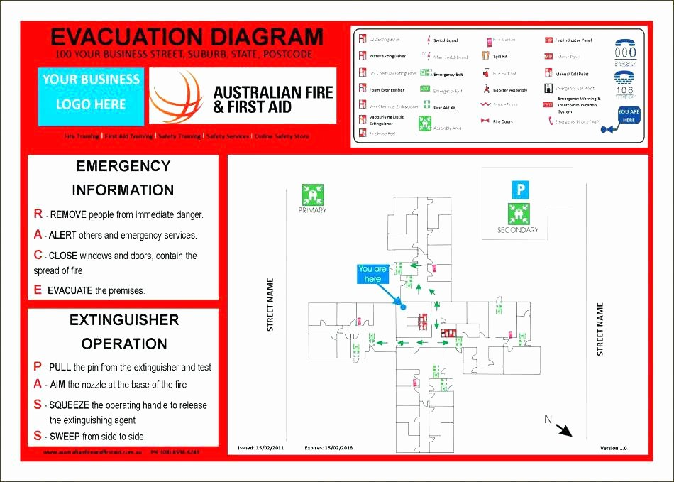 Sample Emergency Evacuation Plan Template Luxury Emergency Fire Evacuation Example Response Action Safety