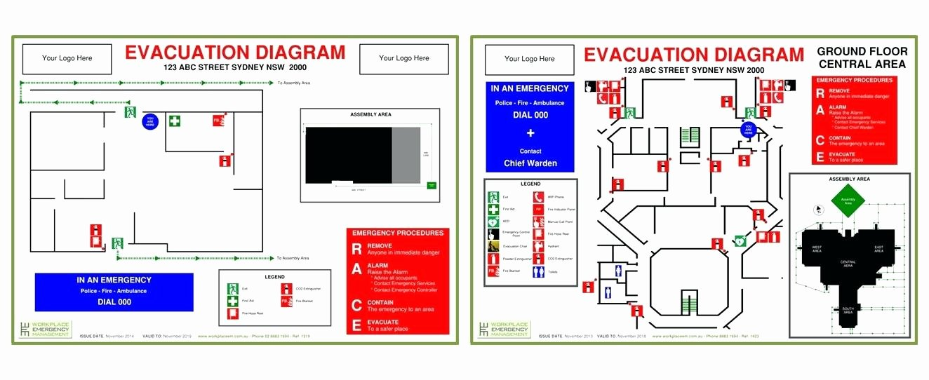 Sample Emergency Evacuation Plan Template Luxury Evacuation Floor Plan Template Free Emergency Templates