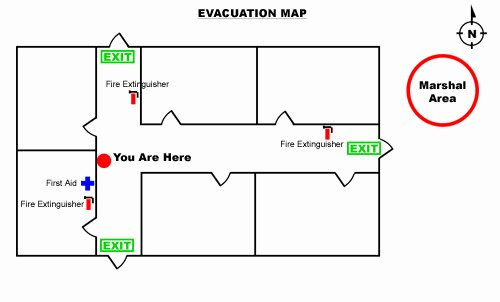Sample Emergency Evacuation Plan Template Luxury How to Create An Emergency Evacuation Map for Your