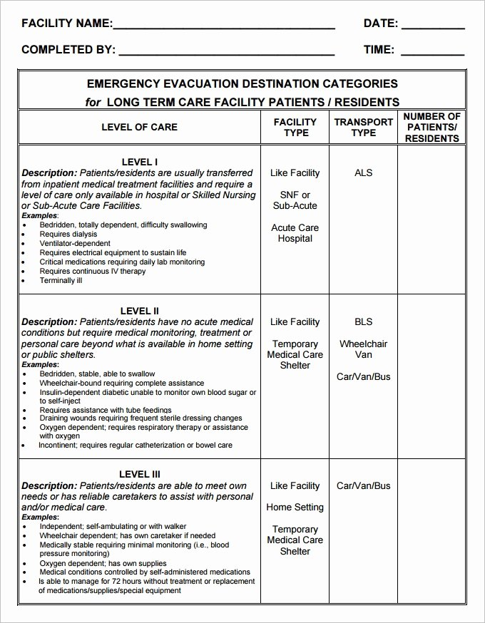 Sample Emergency Evacuation Plan Template New 7 Home Evacuation Plan Templates Google Docs Ms Word
