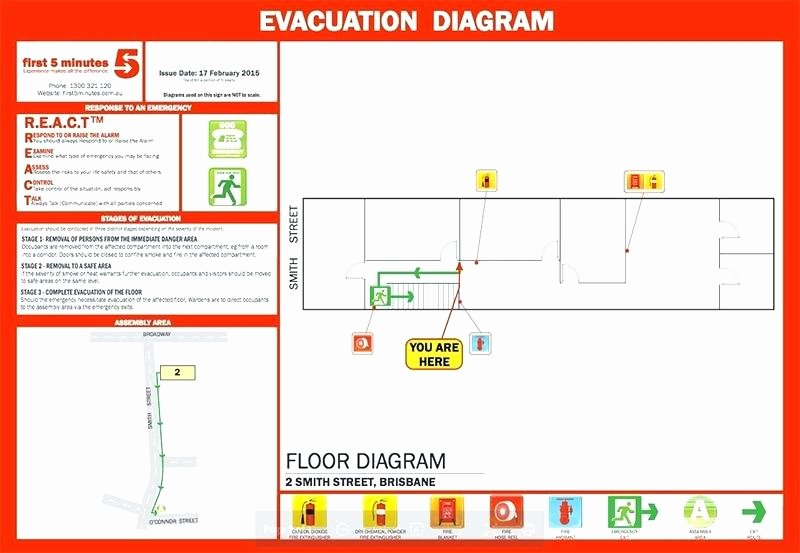 Sample Emergency Evacuation Plan Template Unique Home Emergency Evacuation Plan Best Preparedness Sample