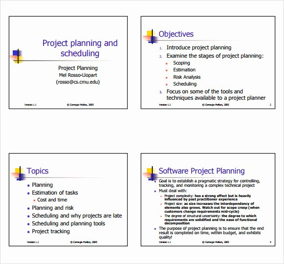 Sample Project Plan Template Best Of 15 Sample Project Plans